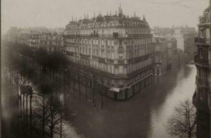 Crue de la Seine 1910 Bld St Germain