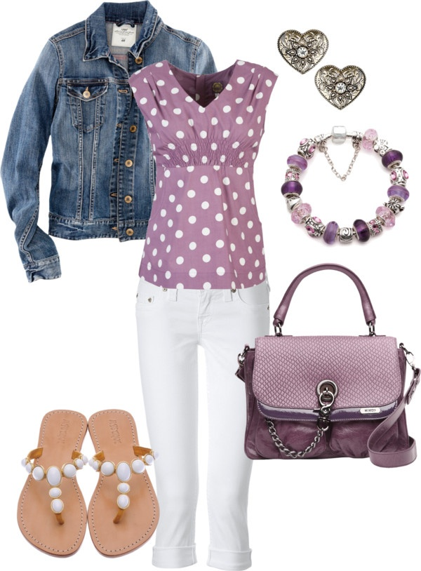 """Lavender Outfit"" by heather767 on Polyvore"