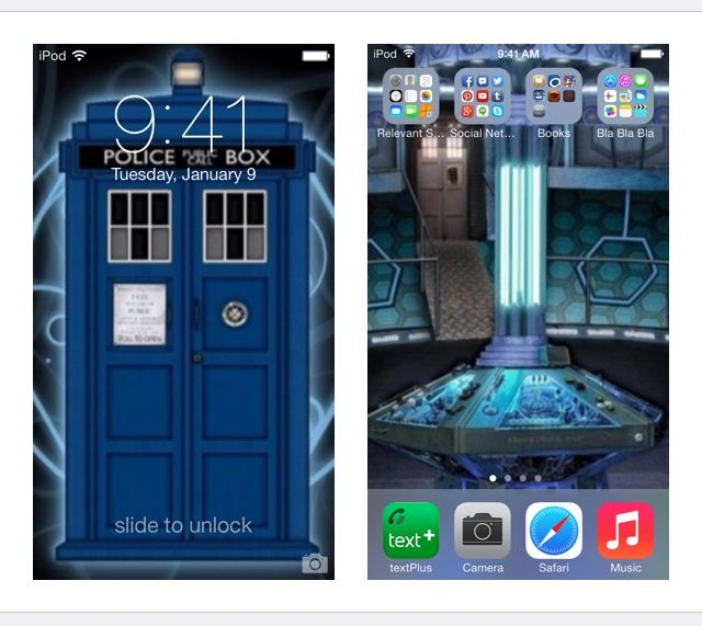 Tardis Wallpaper Iphone: TARDIS IPhone Background.