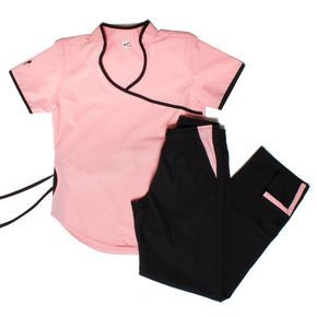 Jazmin Poly BIS rosa con negro - Oh Wear