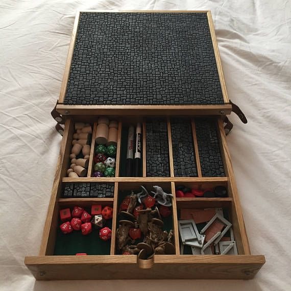 Crit Kit Portable Game Master Case With Removable 12x12 Tile Slab Modular Walls And A Dry Erase Board Dungeons And Dragons Dice Game Master Tabletop Rpg