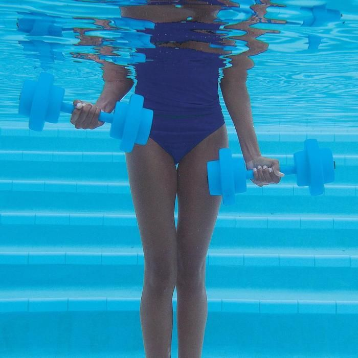 """Pinner says """"These Aquatic Barbells are the greatest!! I am loving them for my water workouts."""" yeah, really need to try this...: Swimming Pools, Resistance Water, Aquatic Dumbbell, Water Dumbbell, Resistance Dumbbell, Water Workout, Gifts Idea, Aquatic Barbell, Upper Body Workout"""