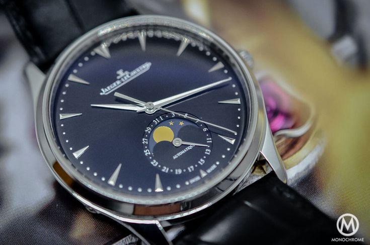 Jaeger-Lecoultre Master Ultra Thin Moon 39 black dial SIHH 2015 - 6