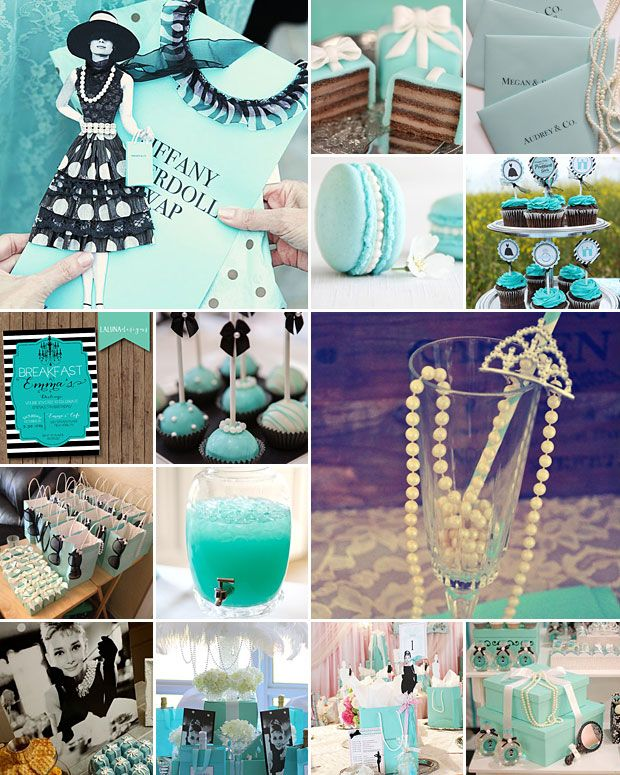 Tiffany Themed Party For Keira S 18th Birthday: 17 Best Ideas About Tiffany Party Themes On Pinterest