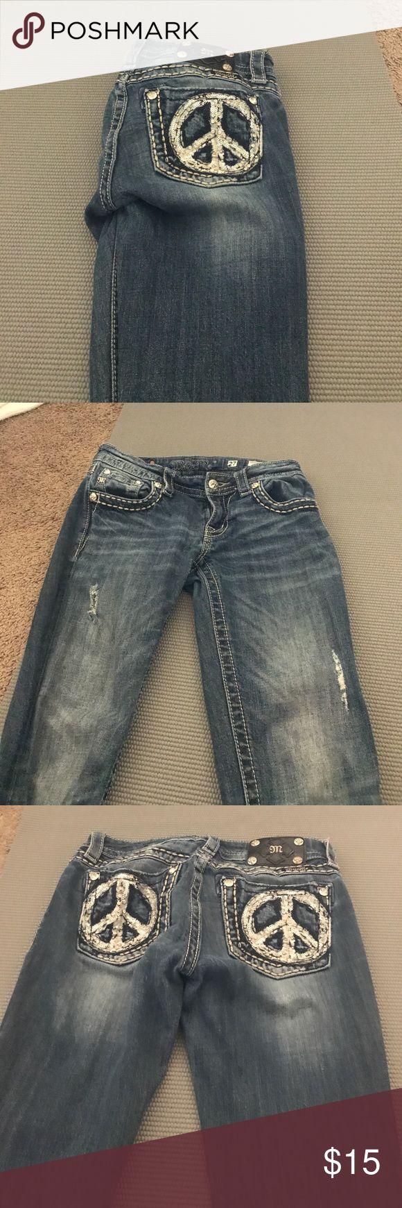 Miss Me skinny jeans size 27 Dark wash Miss me Jeans size 27 great condition Miss Me Jeans Skinny