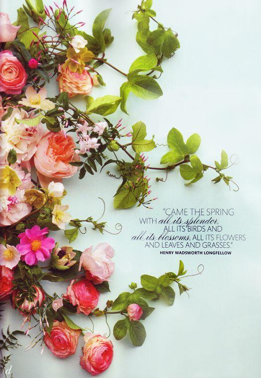 Flowers + Type