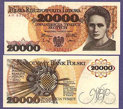 poland currency | ATS notes -window shop with world paper money