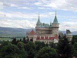 Bajmóc vára, Szlovákia