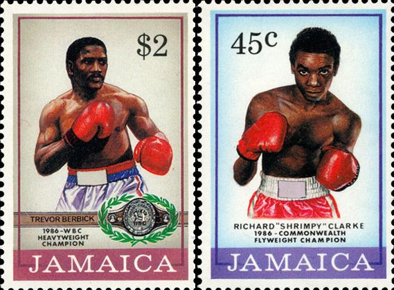 Jamaican stamps at Stanley Gibbons