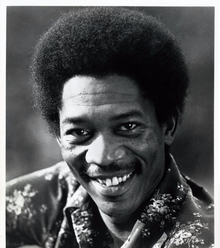 Morgan Freeman | 19 Gloriously Surprising Photos Of Celebrities From When They Were Younger