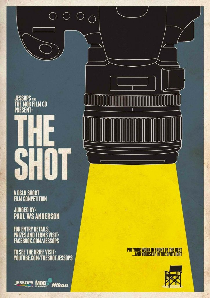 Jessops 'The Shot' film competition poster