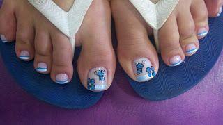 50 diseños de uñas para los pies bonitas – Show rock