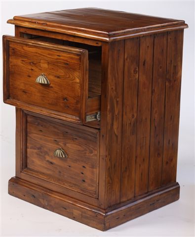 If you need a slightly smaller filing cabinet, Antique Market has got you covered with this 2 drawer reclaimed pine filing cabinet! Find more great furniture online! www.antiquesdirect.ca