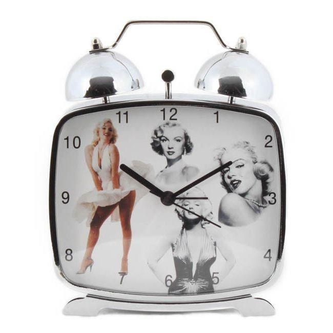 cozy alarm clock featuring marilyn monroe www.inart.com