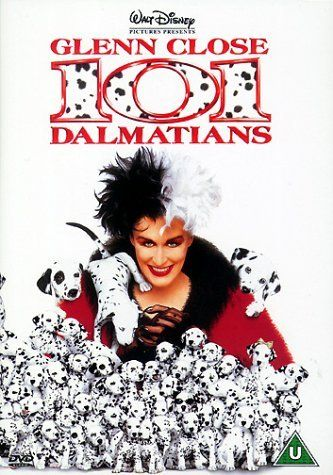 101 DALMATIONS ~ I LOVE this movie-- i have it in both the real and animated versions. Still watch it often with all my grand kids:)