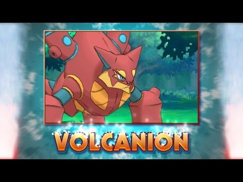 Meet Volcanion The New Upcoming Steam Pokemon