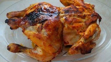 Fırında Kızarmış Tavuk Tarifi (bütün tavuk)