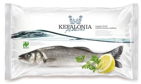 Kefalonia, frozen fish Packaging