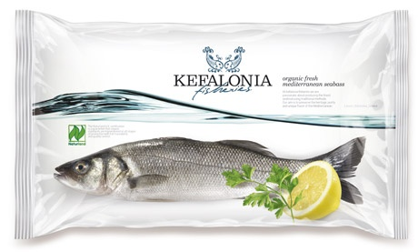 Kefalonia, frozen fish Packaging
