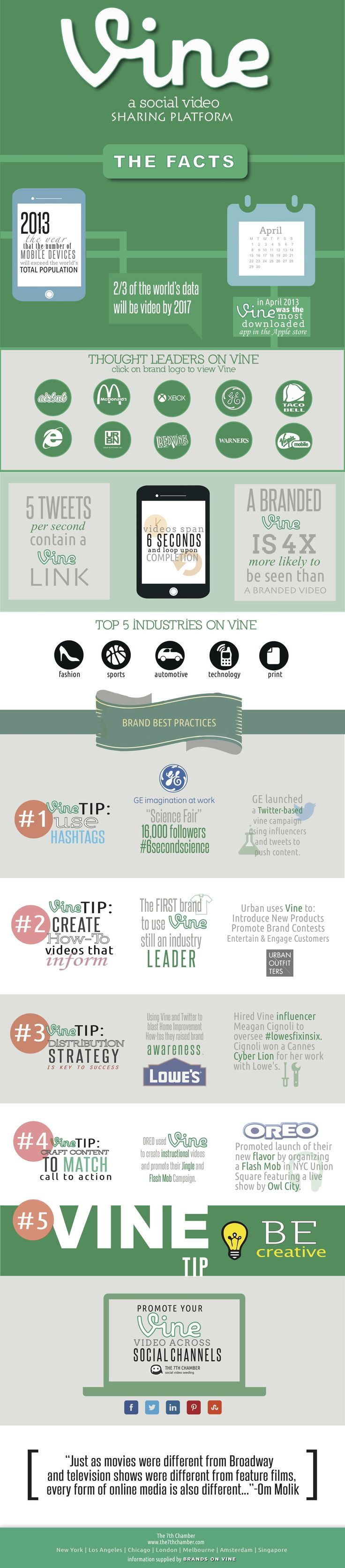 A great #infographic about social media platform Vine