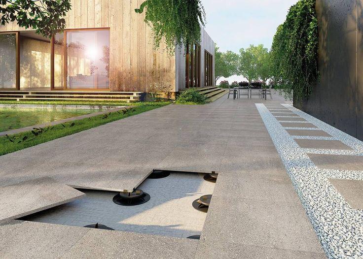 Oltre 25 fantastiche idee su pavimentazione da giardino su - Fughe piastrelle colorate ...