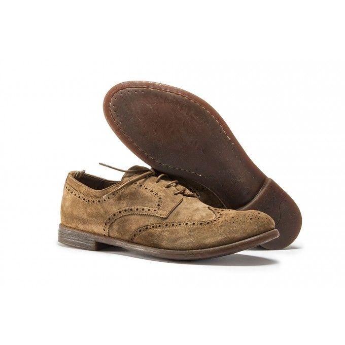 c7fe7ecc56 Men's shoes flat shoes derby beige rope brown officine creative in ...