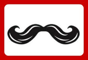 Mustache Bash Party Ideas including a Photo Booth, Banners with Mustaches, and Mustache Food Labelers!