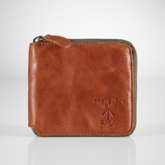 Zip Coin Pocket Wallet - Polo Ralph Lauren Wallets & Cufflinks - Ralph Lauren France