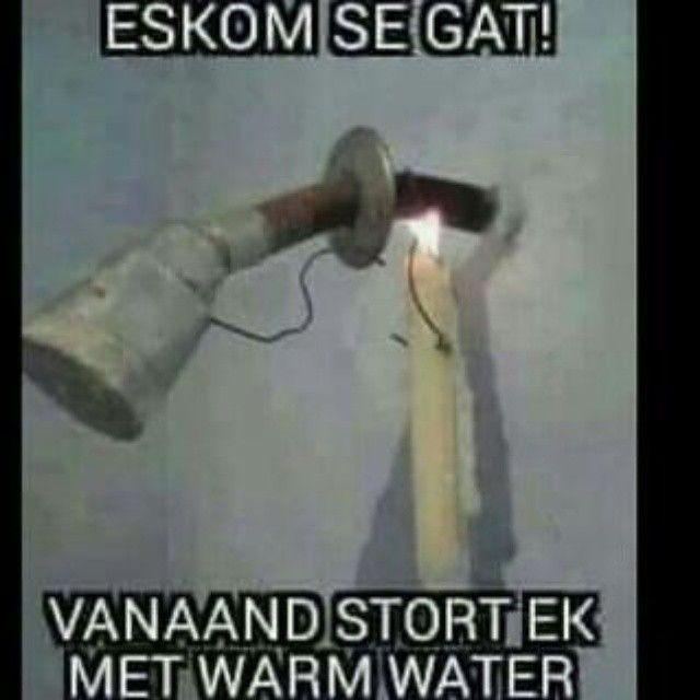 #afrikaans #eskom #grappe