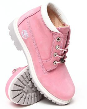 pink timberland nellie women boots