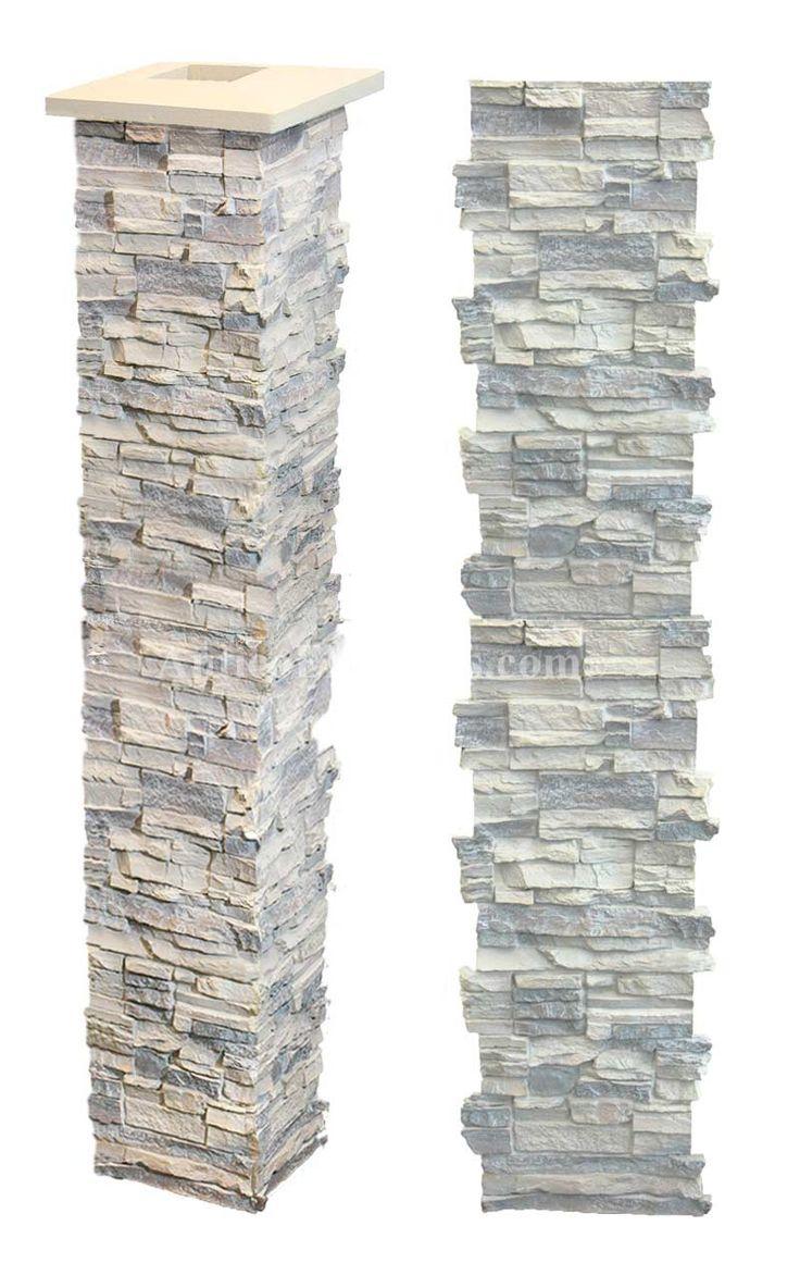 Exterior Faux Stone Columns : Best images about kitchen ideas on pinterest faux