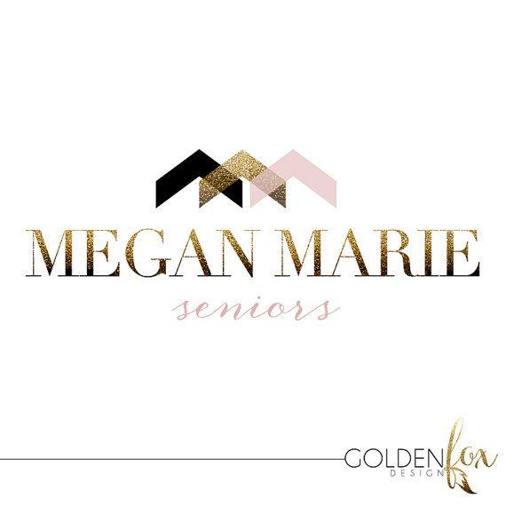 Premade logo, fashion, blogger, photographer, modern, senior photography, Watermark Logo Photography Event by GoldenFoxDesign, $35.00