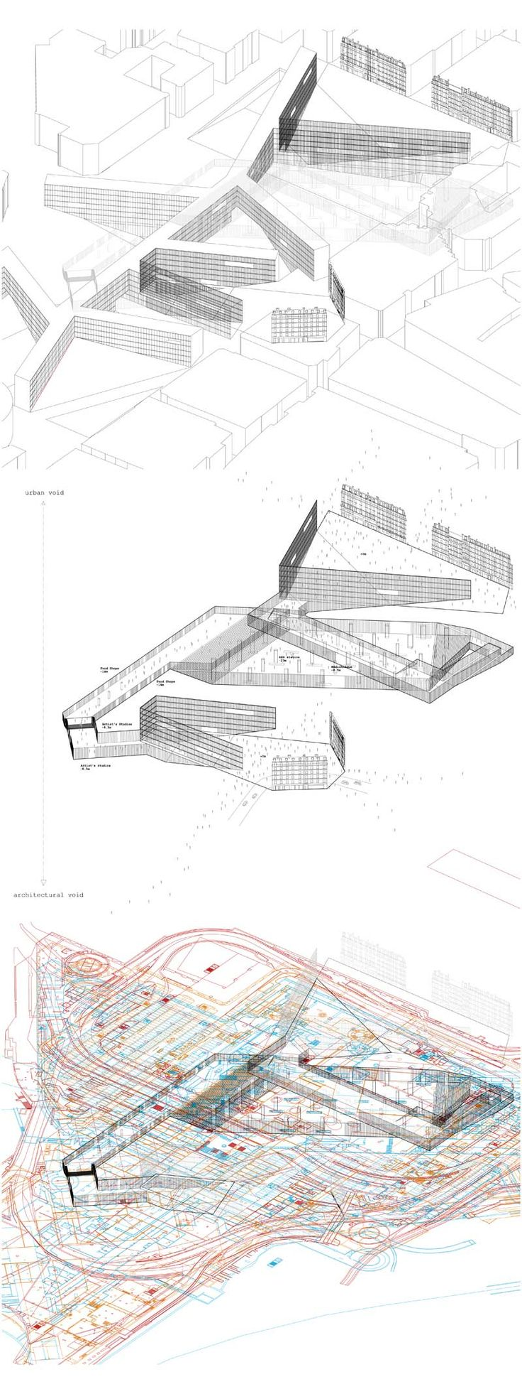 Architectural Drawings by Ryan Neiheiser