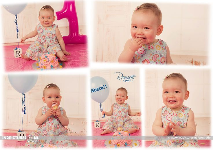 cakesmash photoshoot Fun 1 year old  http://www.in2pictures.nl