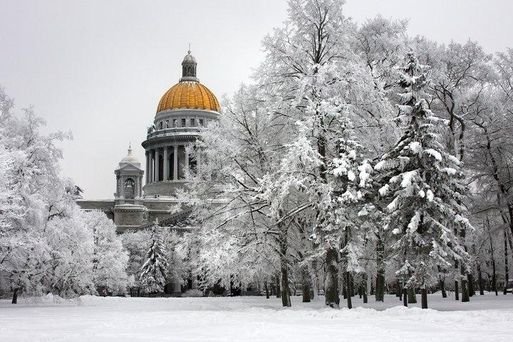 Winter in St. Petersburg