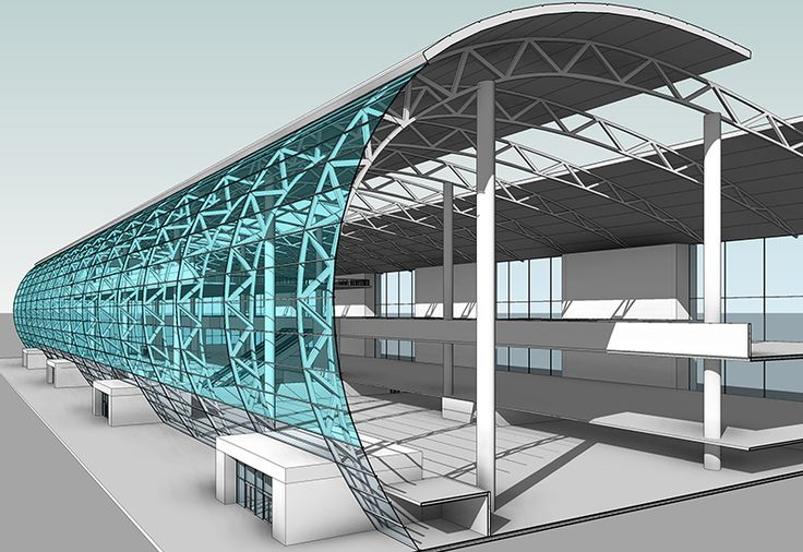 We provide high quality structural modeling steel for Steel shade structure design