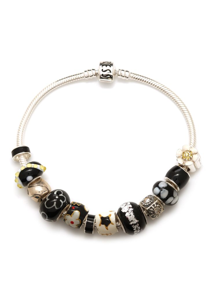 Ready to Wear Bracelet - Black & White