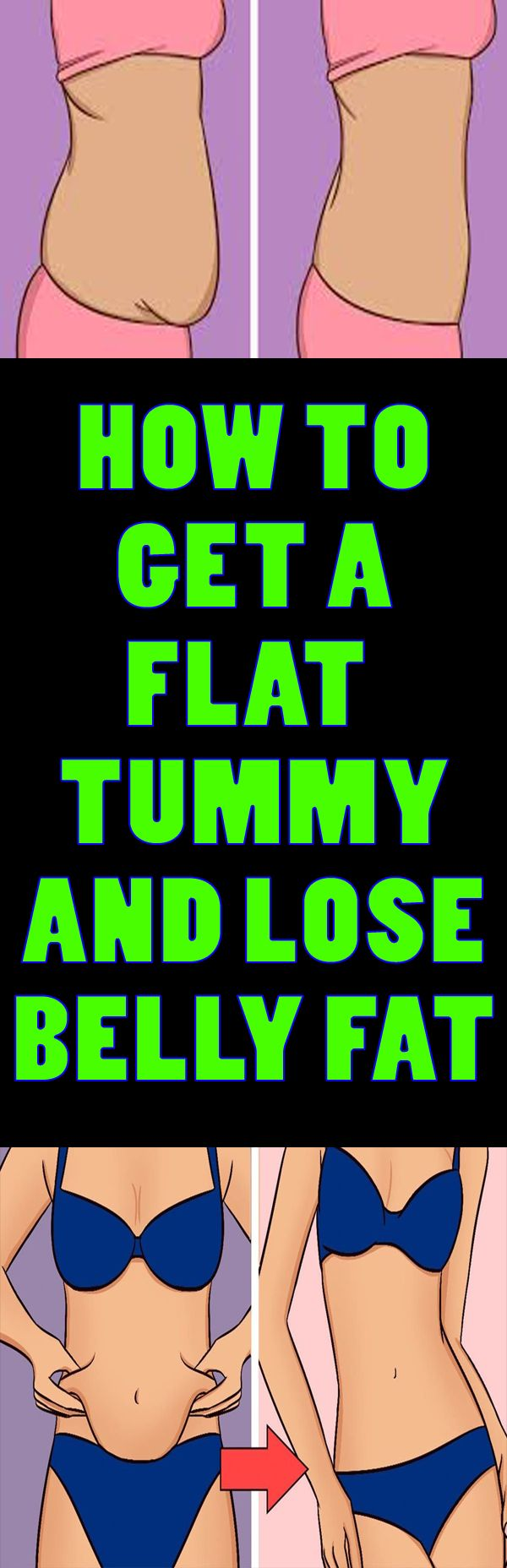 Things to do if you're trying to lose belly fat. How to los belly fat and flatten your tummy !