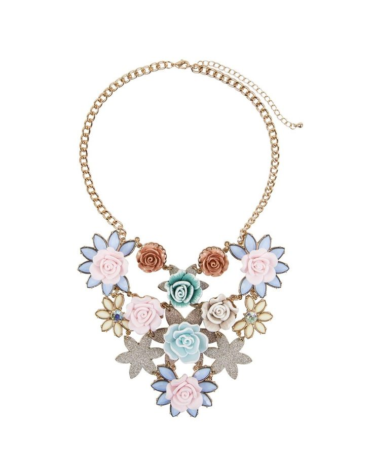 Flower Trim Necklace