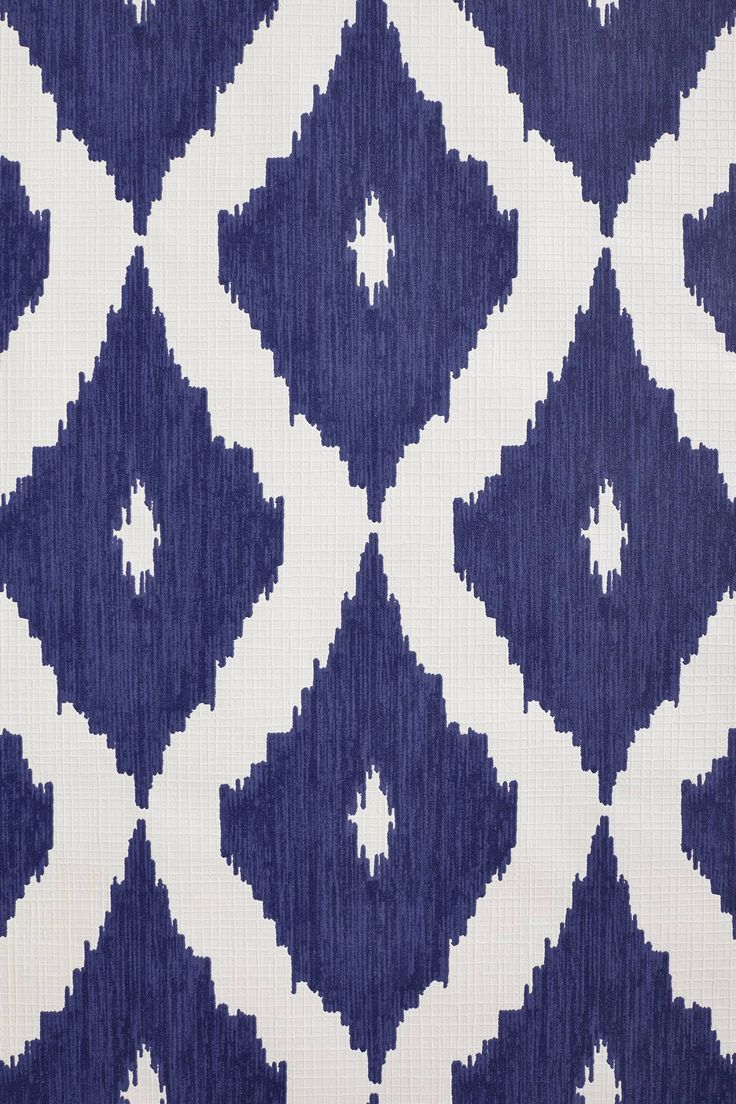 Coursing Ikat Wallpaper