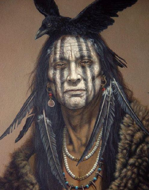 Kirby Sattler art - Native American Indian Art.