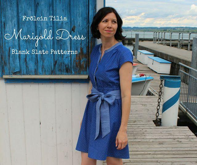 """""""Wild & Beautiful"""" - Mein royales Marigold Kleid - Frölein Tilia"""