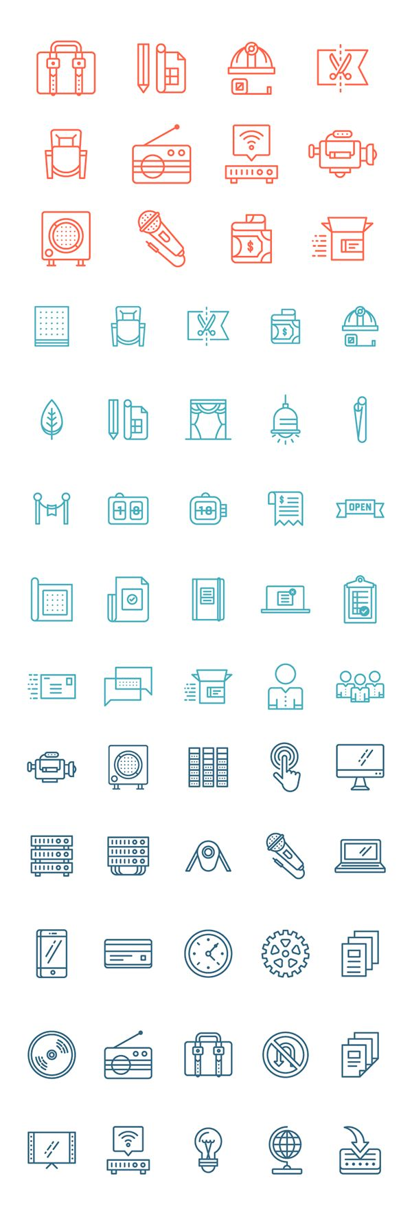 Consulting Icon Set on Behance