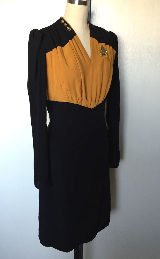 1940s Star Trek dress
