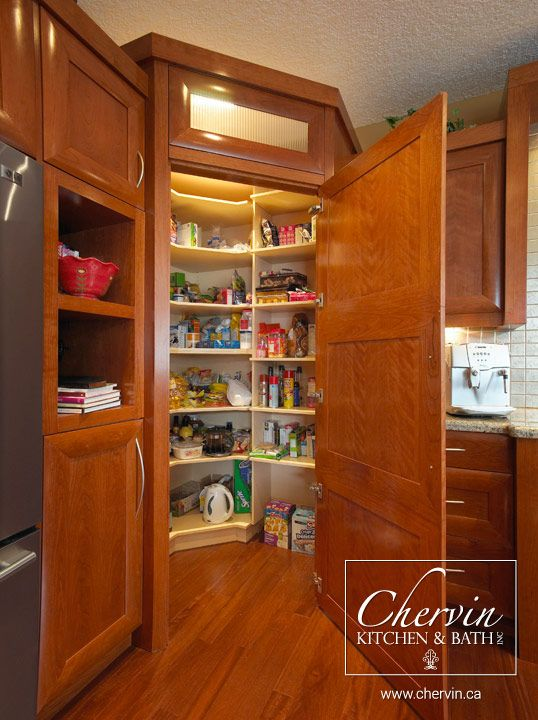 how to set up a walk in pantry