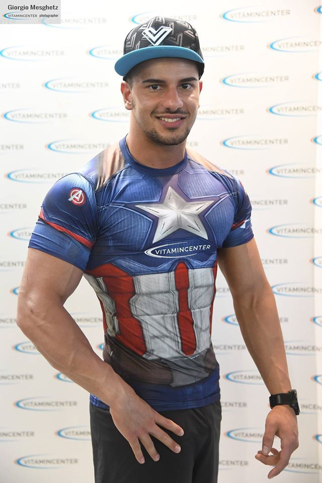 Francesco Fasciana #teamVitaminCenter #RW16 #riminiwellness #fitness #bodybuilding #italia
