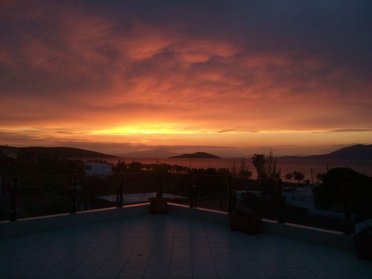 Our view... inspiration... #alykeshotel #alykes #alykeshotel #marmari #evia #relax #vacations #greece #μαρμάρι #αλυκες #summer