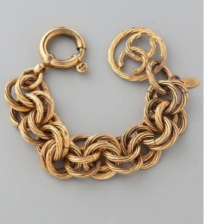 Bracelet |  Vintage Chanel.