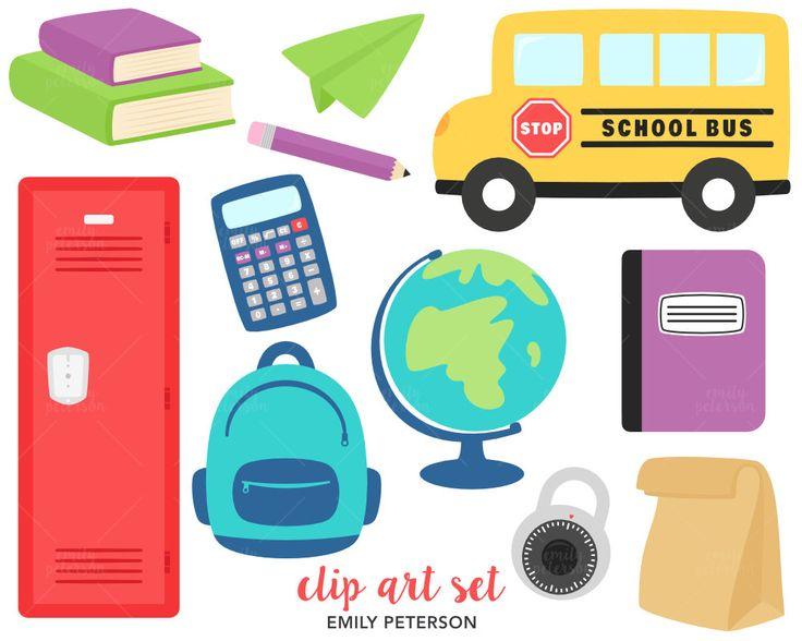 VENTA Escuela mochila autobús escolar Cute por EmilyPetersonStudio