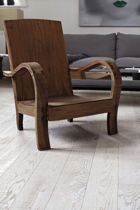 Junckers Saw Mill Oak - textured, solid oak floor #junckers #woodflooring #solidhardwood #woodenfloors #grey #gray #greyfloor